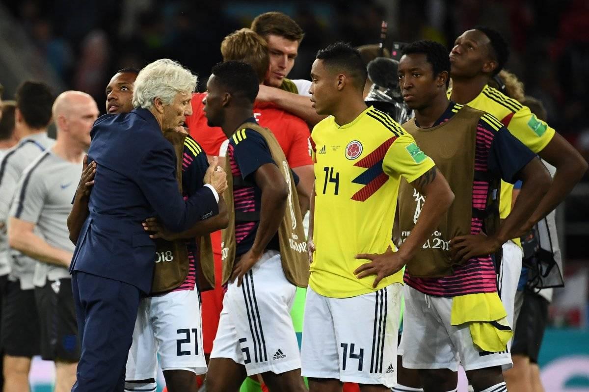 Los colombianos lamentaron su eliminación
