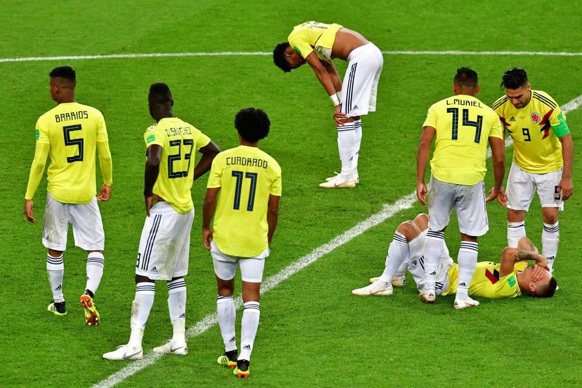 Los colombianos lamentan la eliminación