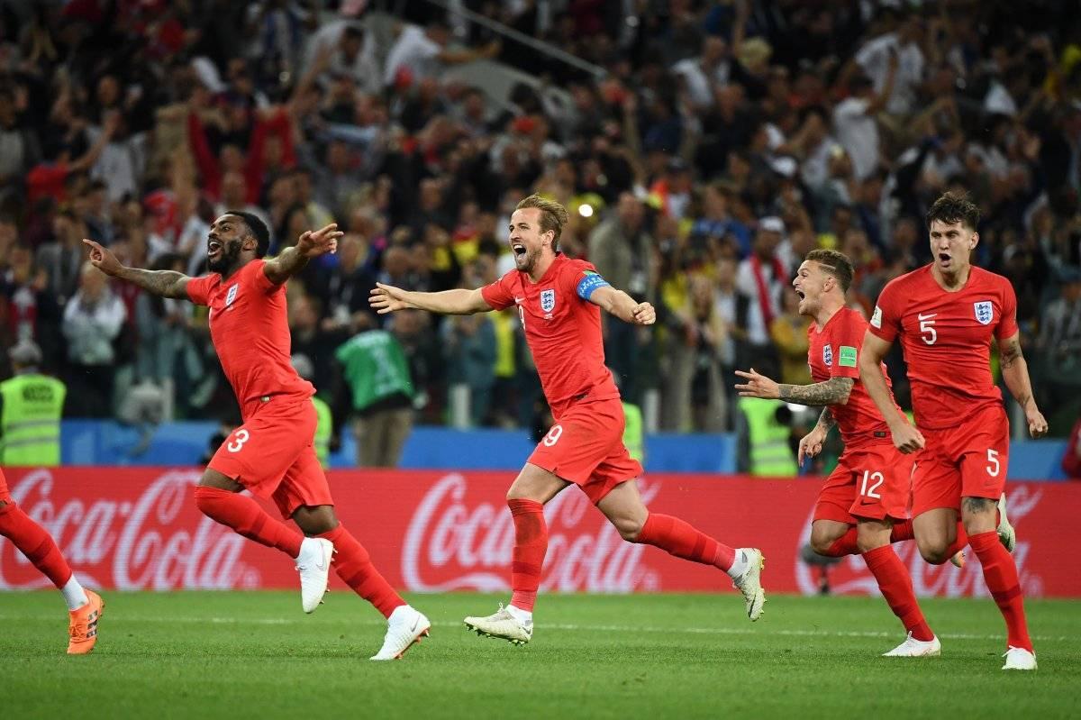 Los ingleses festejaron su clasificación