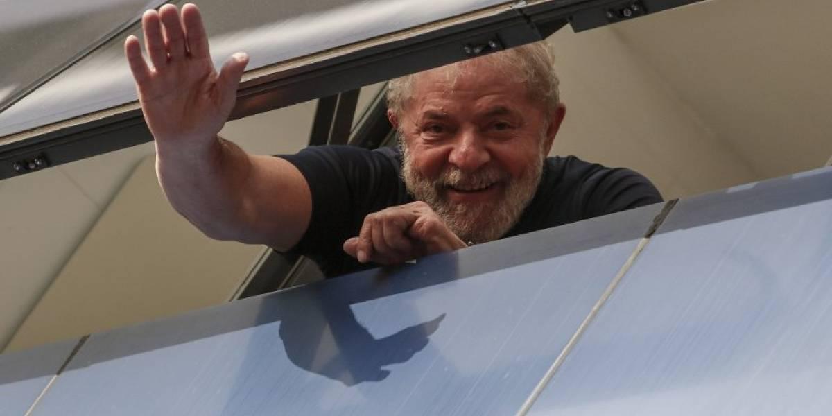 Lula con 39% de intenciones de voto en Brasil, según Datafolha
