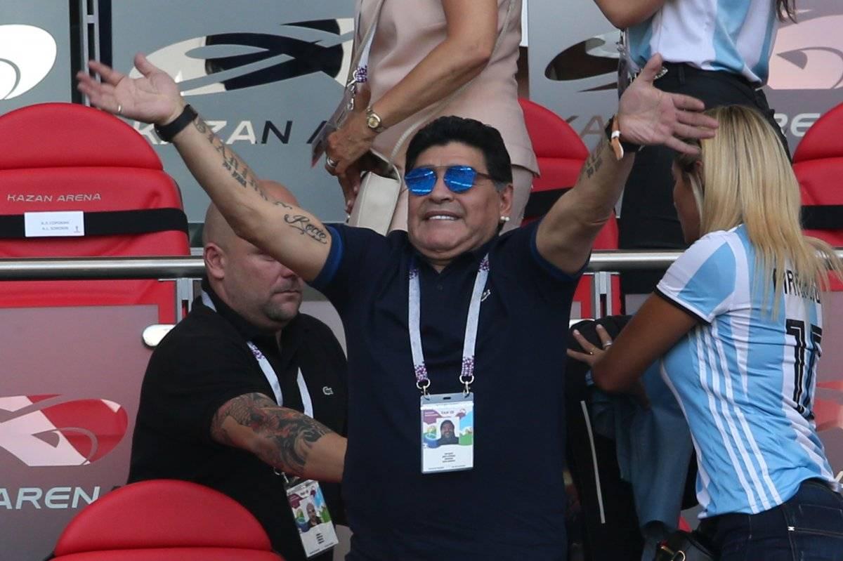 Maradona quiere volver al banquillo argentino