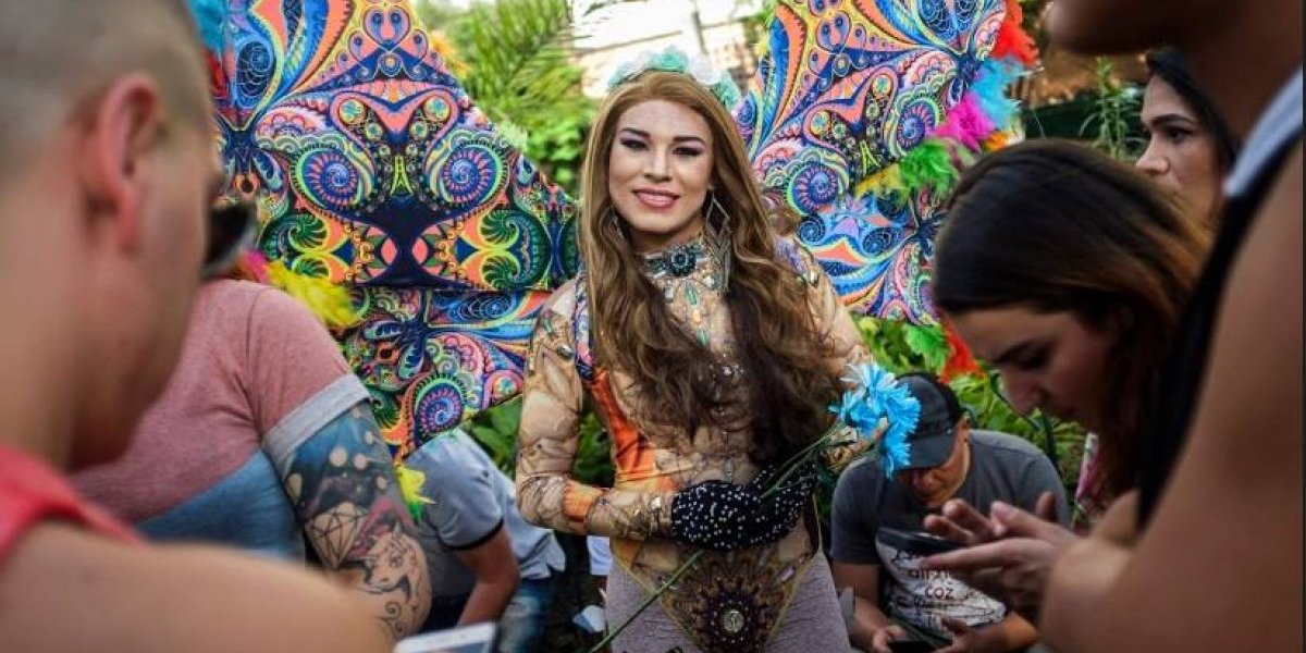 Así se vivió la marcha del orgullo gay en Medellín