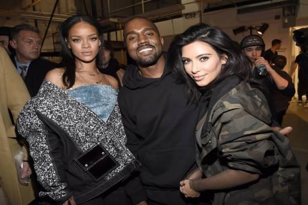 Kim Kanye Rihanna