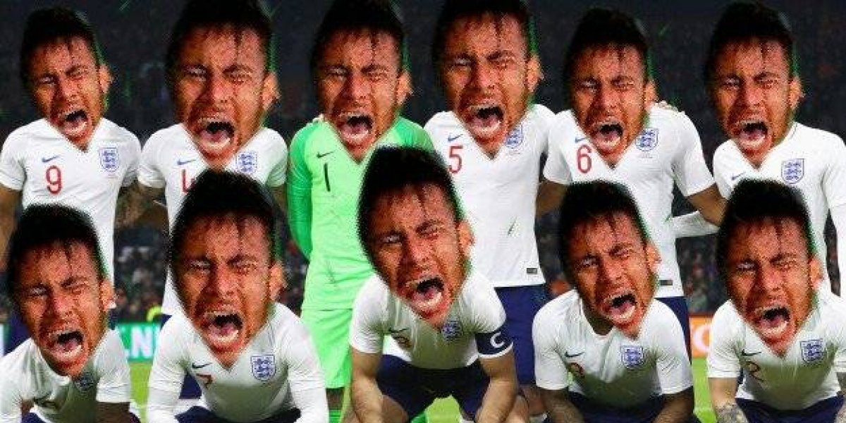 """Todos son Neymar"", con memes, usuarios se burlan de jugadores de Inglaterra"