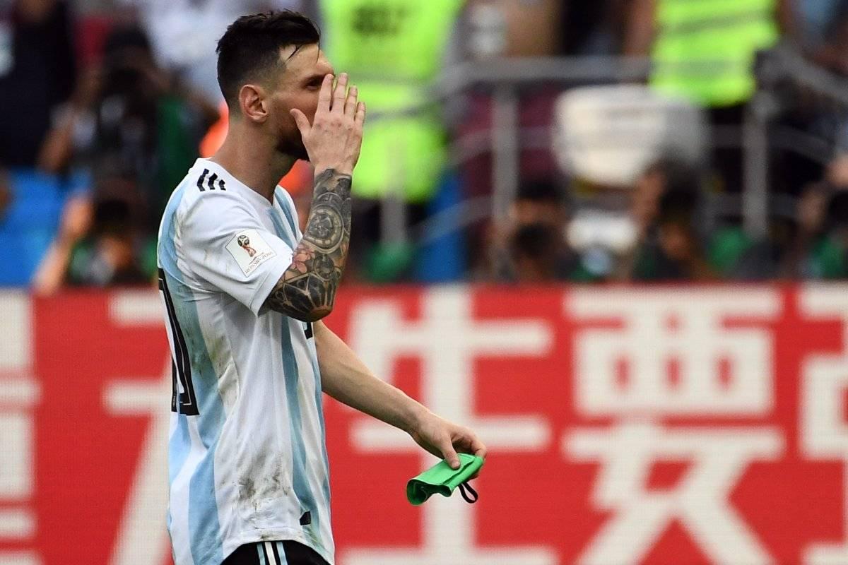 Messi no ha ganado nada con el equipo mayor argentino