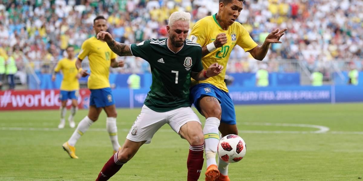 Layún celebra nivel del Tri mostrado ante Brasil pese a la eliminación