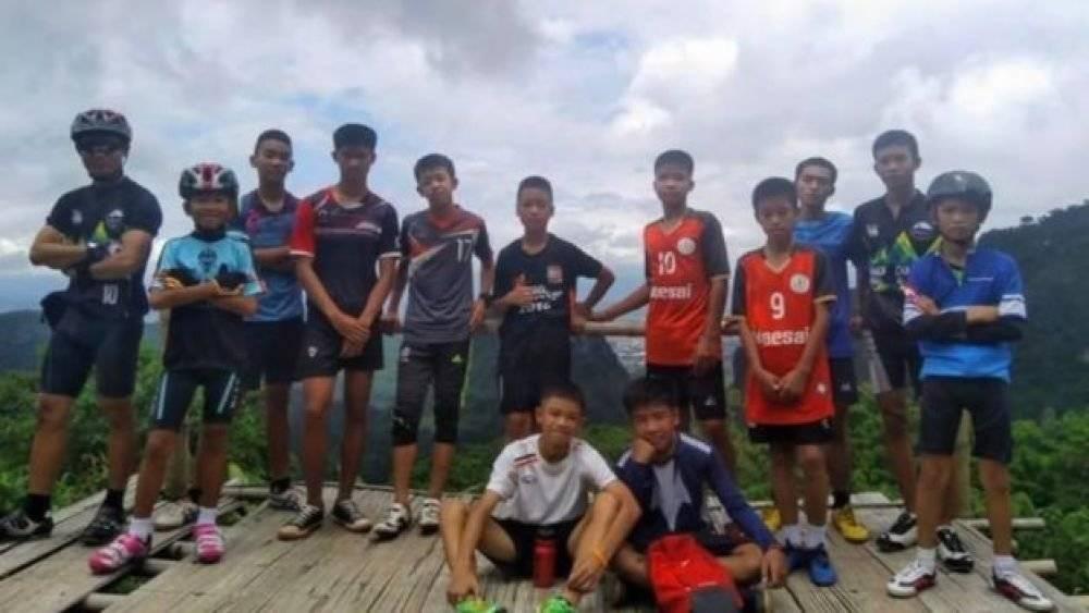 Los niños realizaban excursiones en equipo.