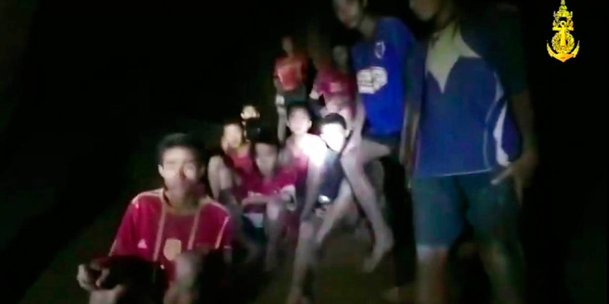 VIDEO. Tailandia: Lluvias dificultarían rescate de niños en cueva
