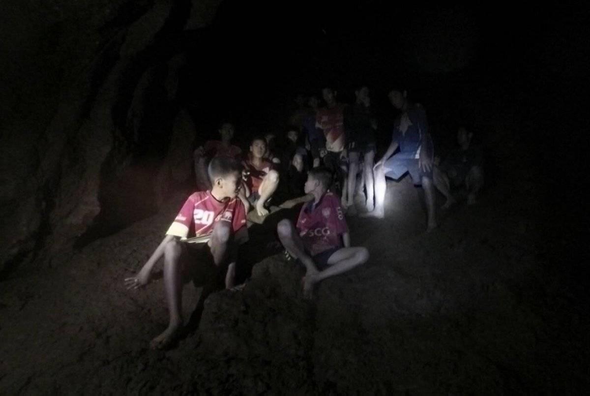 Encuentran a los niños en Tailandia EFE