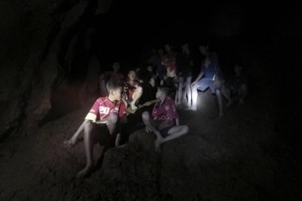 Encuentran a los niños en Tailandia