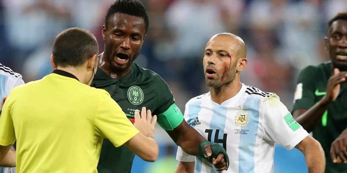 Futbolista revela que su padre estaba secuestrado mientras jugaba el Argentina-Nigeria