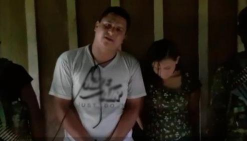 pareja de ecuatorianos