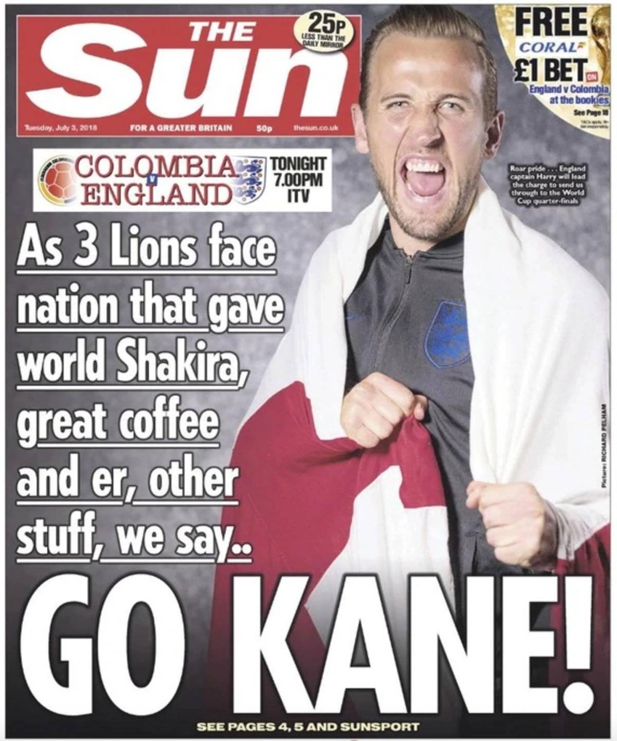Polémica portada del diario The Sun