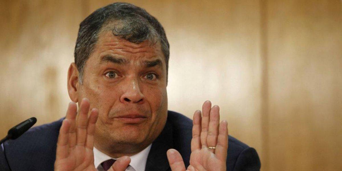 Justicia de Ecuador ordena captura del ex presidente Rafael Correa