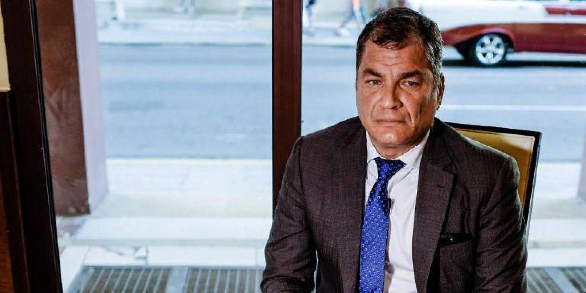 Justicia de Ecuador dicta orden de prisión contra expresidente Rafael Correa