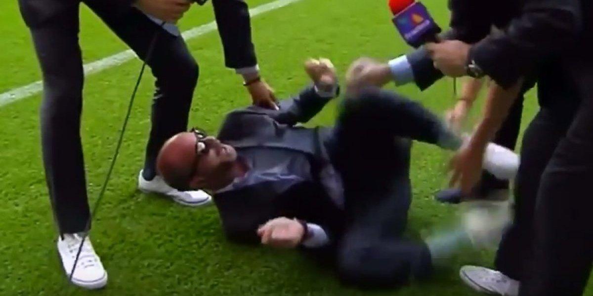 Luis García se burla de Neymar imitándolo