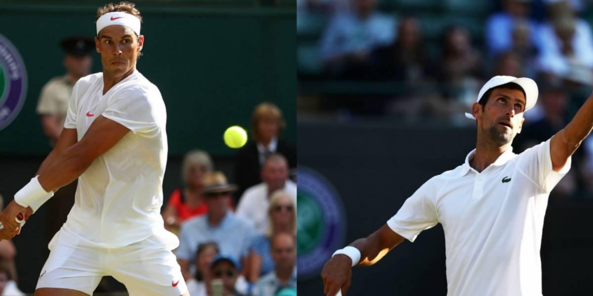 Nadal y Djokovic debutan con triunfo en Wimbledon 2018