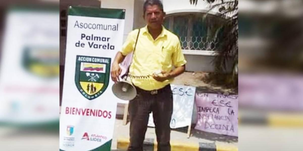 Líder comunal fue asesinado en su casa mientras veía el partido de Colombia
