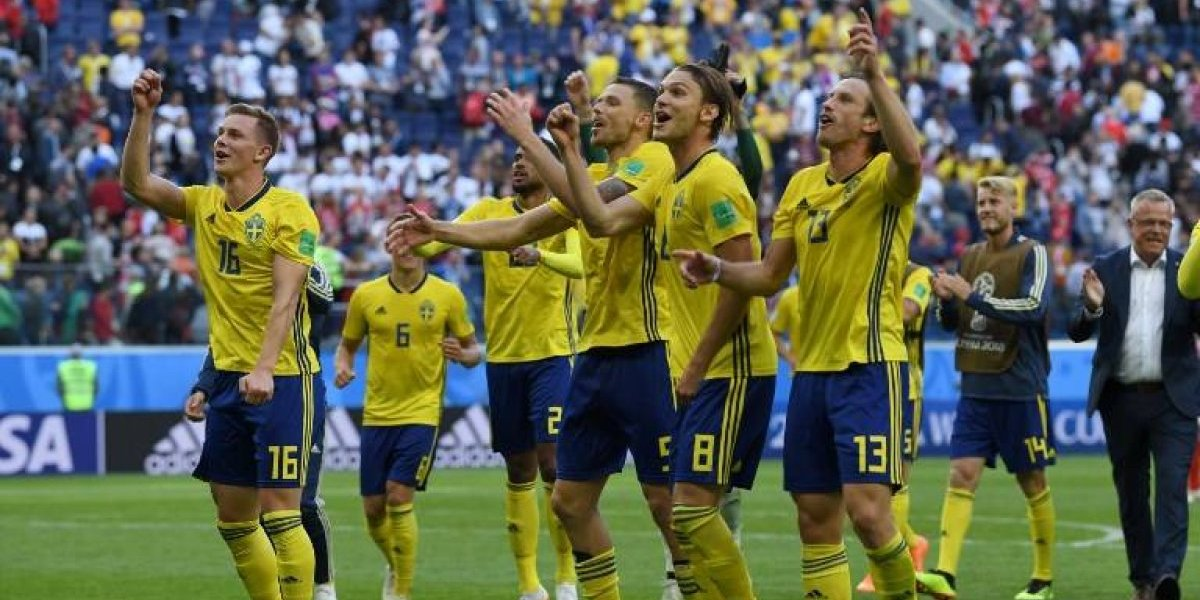 """Suecia """"el caballo negro del Mundial"""" se instala en los cuartos"""