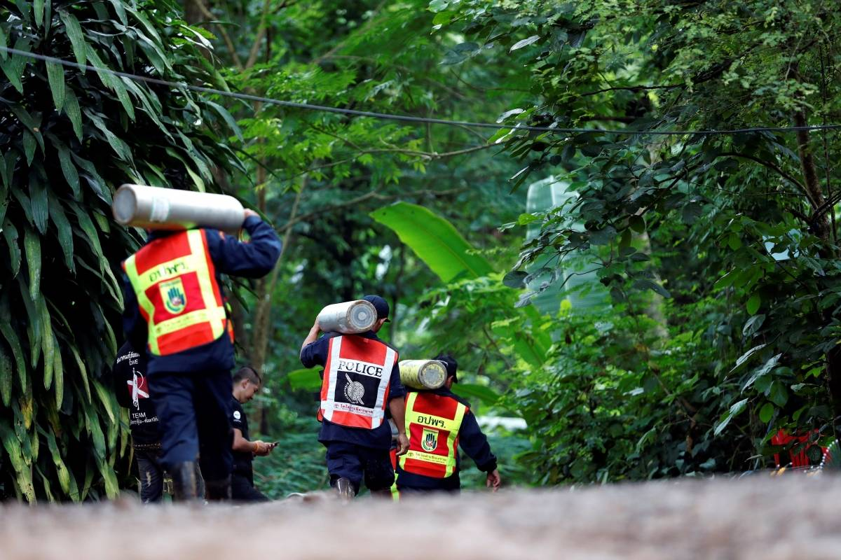 rescate niños Tailandia