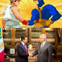 López Obrador, Peña Nieto, Memes