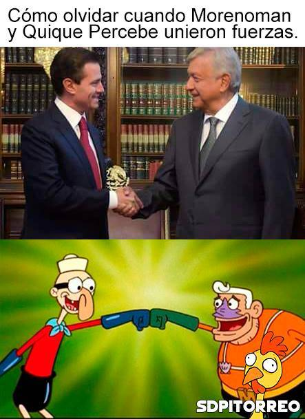 México: AMLO se reunió con Peña Nieto y los ganadores fueron los Memes