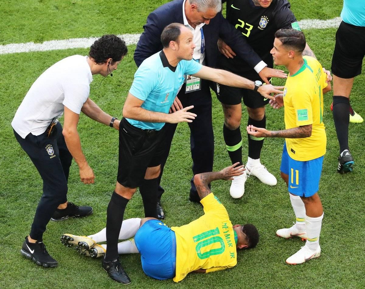 Exarquero danés, Peter Schmeichel hizo duras críticas a Neymar en el partido Brasil vs México del Mundial EFE