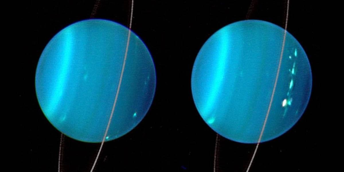 Esta sería la razón de por qué el planeta Urano está tan inclinado