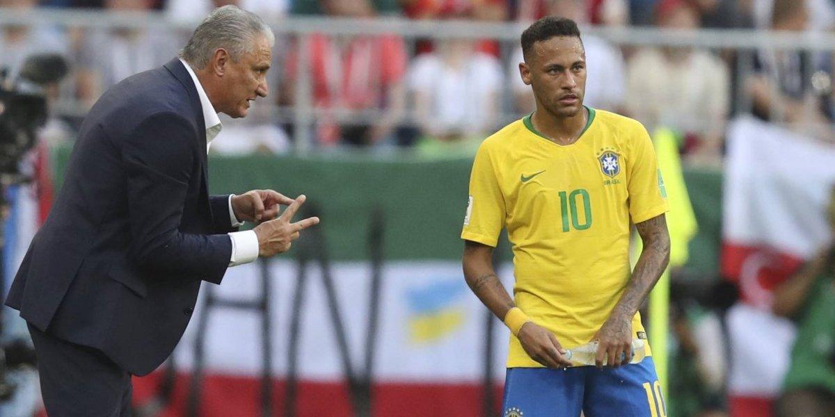 """El día que Tite criticó duramente a Neymar por """"teatrero"""": """"Es un mal ejemplo para los niños"""""""