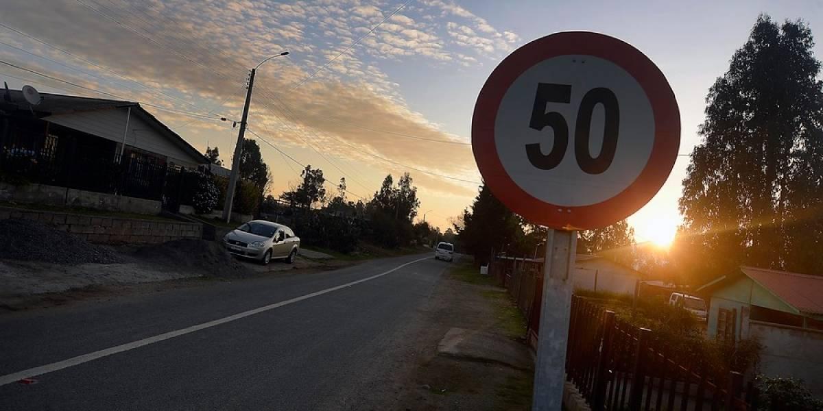 Despacito: aprueban baja de 60 a 50 km/h la velocidad máxima en zonas urbanas