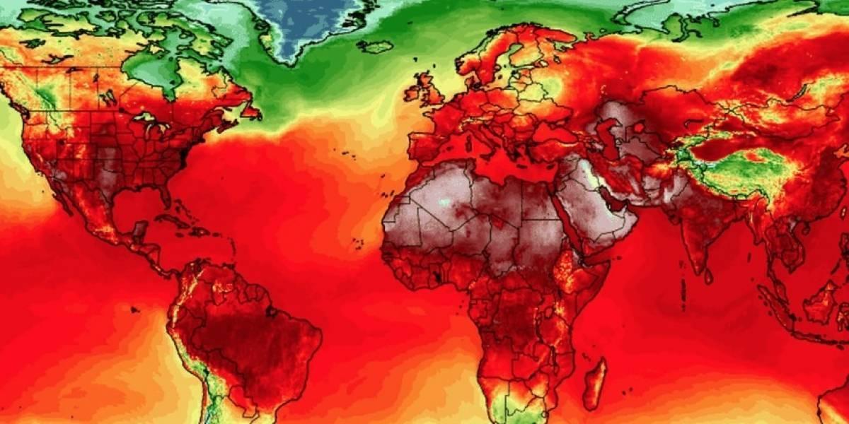 El impresionante récord que rompió el calentamiento global: en una semana se registraron las temperatura más altas de la historia en el Mundo