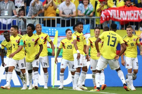 Amistosos de la Selección Colombia en noviembre del 2018