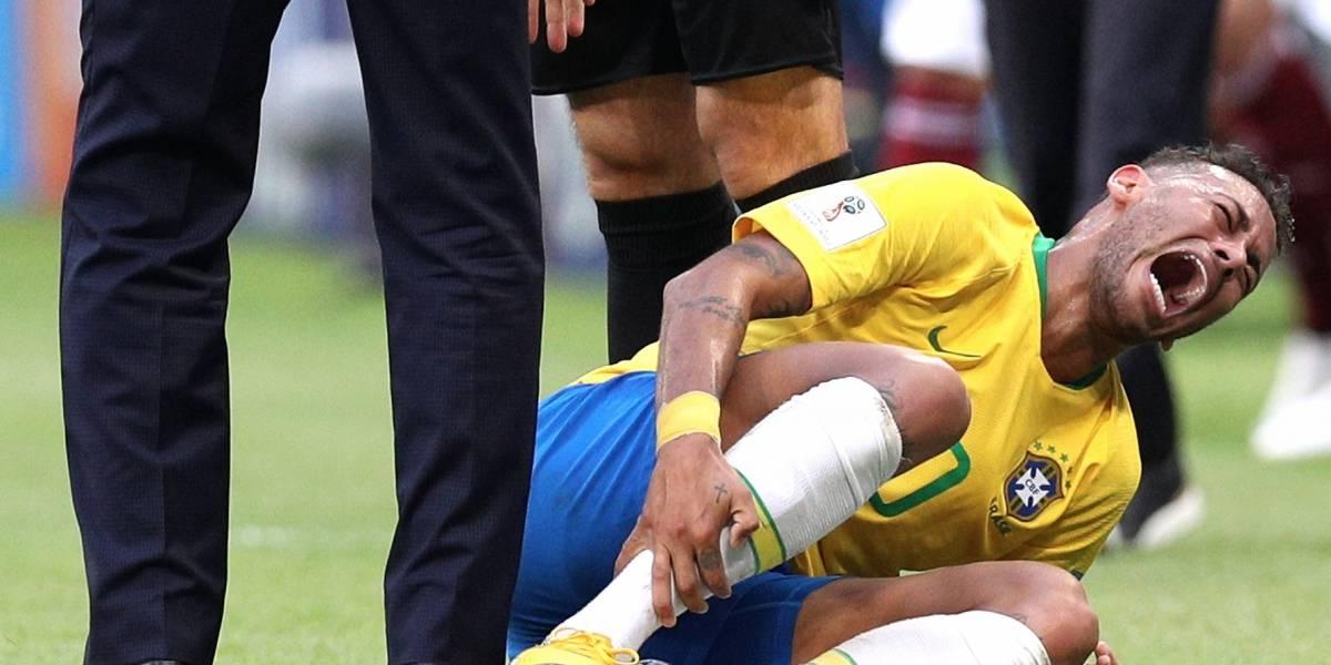 Neymar es uno de los futbolistas más odiados de la Copa del Mundo
