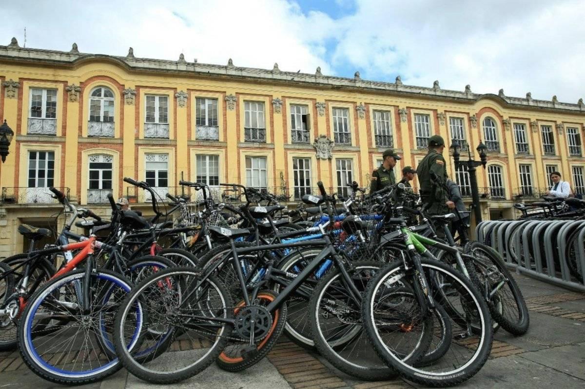 Entregatón de bicicletas Cortesía Alcaldía