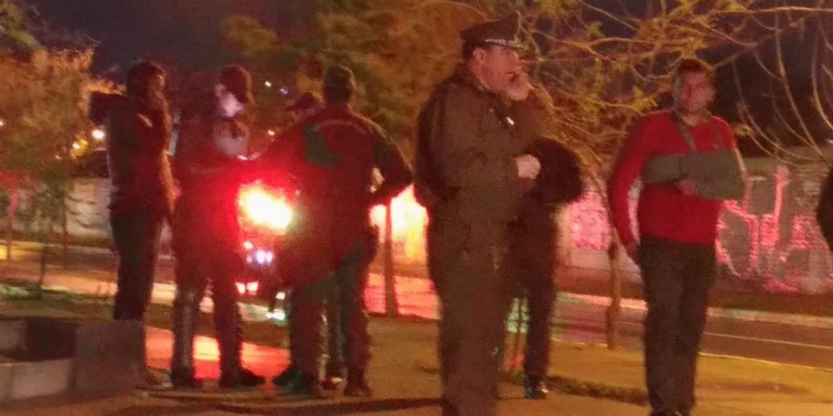 Carabinero de franco repelió robo: un asaltante muerto, otro herido y dos en fuga en Pudahuel