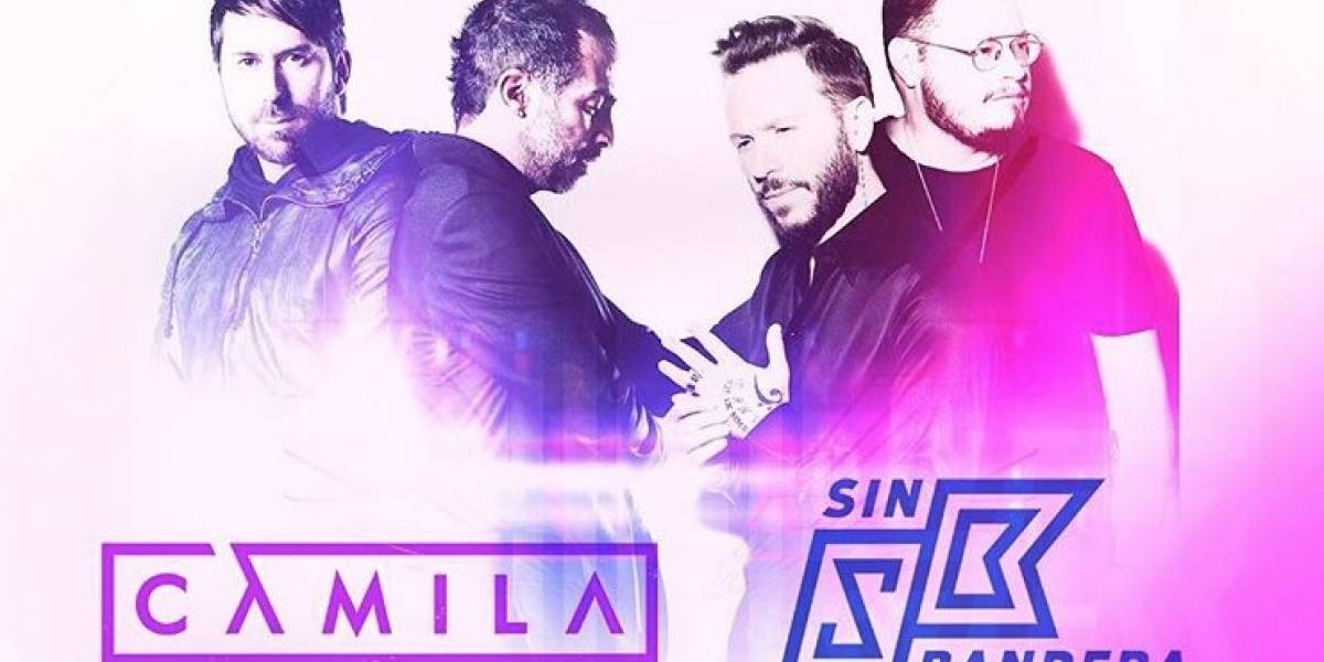 Camila y Sin Bandera anuncian gira de conciertos