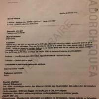 'Ecuador Chequea' publica reporte médico correspondiente a la hija de Rafael Correa