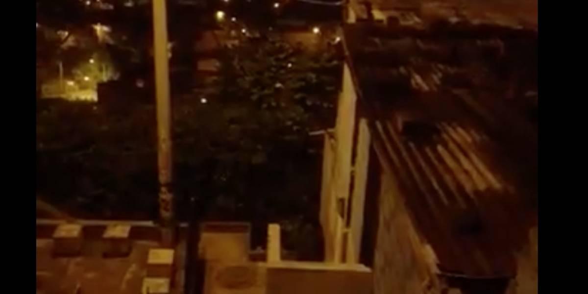 Una balacera se presentó en un barrio de la comuna 13 en Medellín