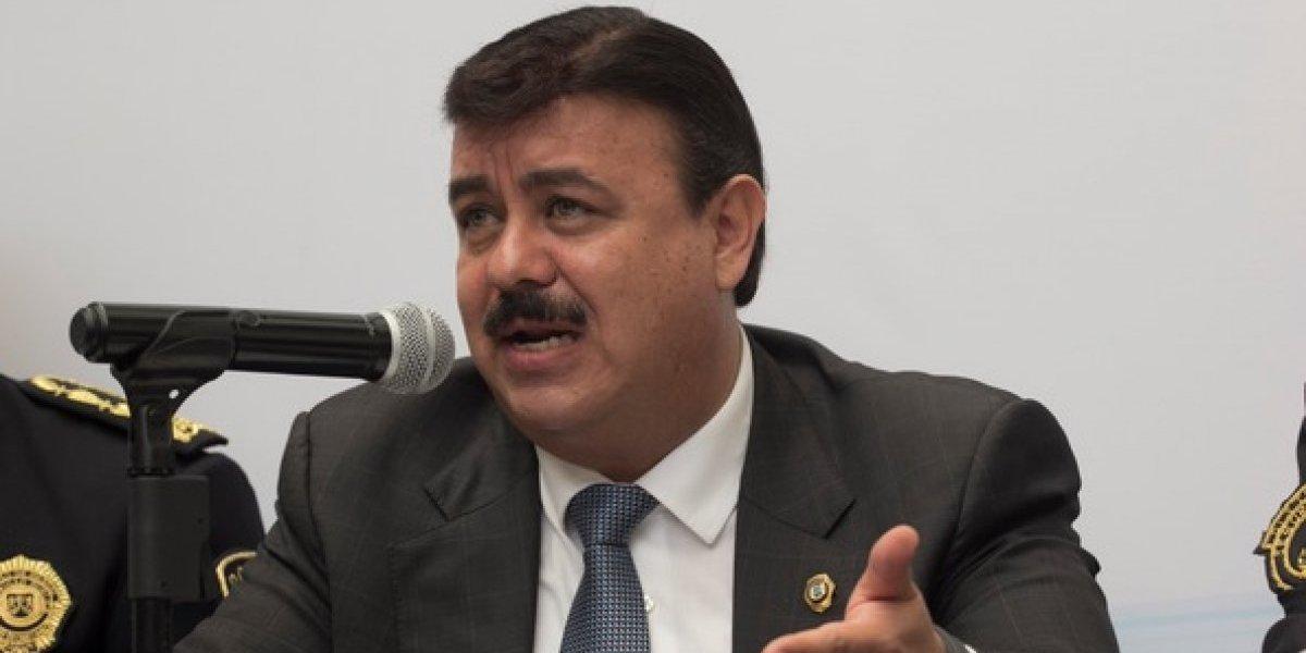 Hiram Almeida renuncia a la SSP-CDMX