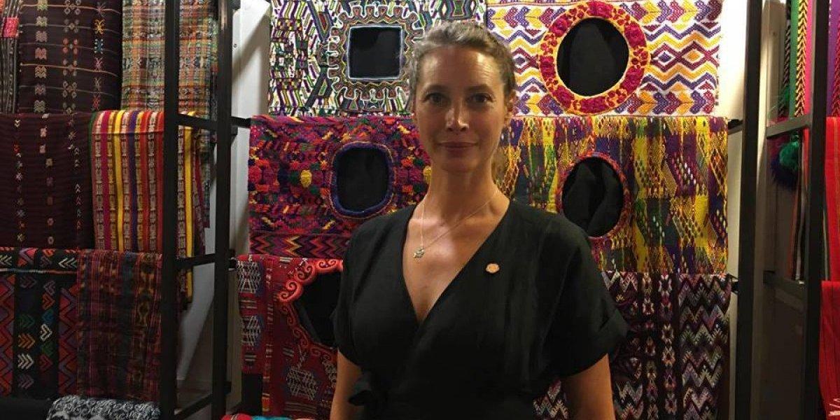La top model internacional Christy Turlington apoya importante causa en Guatemala