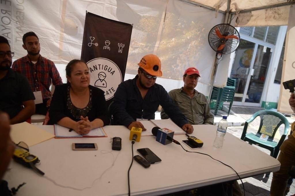 Antigua al Rescate da cifras de desaparecidos por erupción del volcán de Fuego