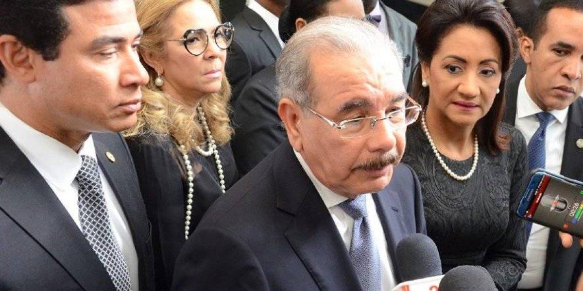 Danilo Medina dice Gobierno enfrentará brote de violencia en las calles