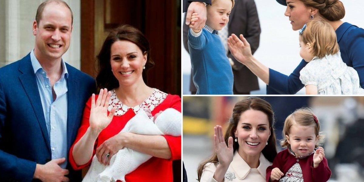 Kate Middleton fala sobre maternidade e responde como é ter um filho na família real