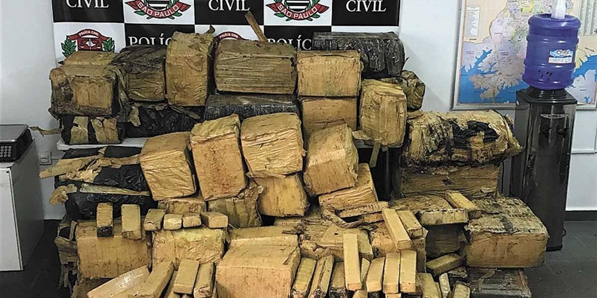 Polícia apreende 700 kg de maconha em São Bernardo