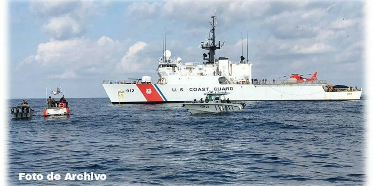 EE.UU. y Guatemala decomisan más de 2 mil kilos de cocaína en aguas del Pacífico