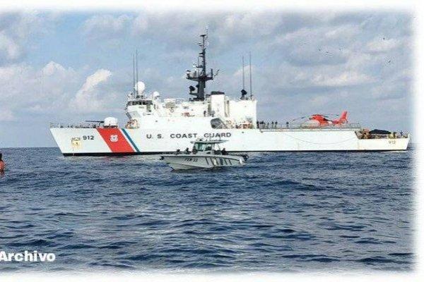 decomisan cocaína en embarcación en el Pacífico
