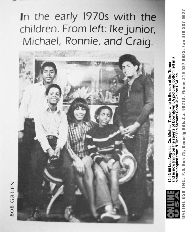 família de Tina Turner