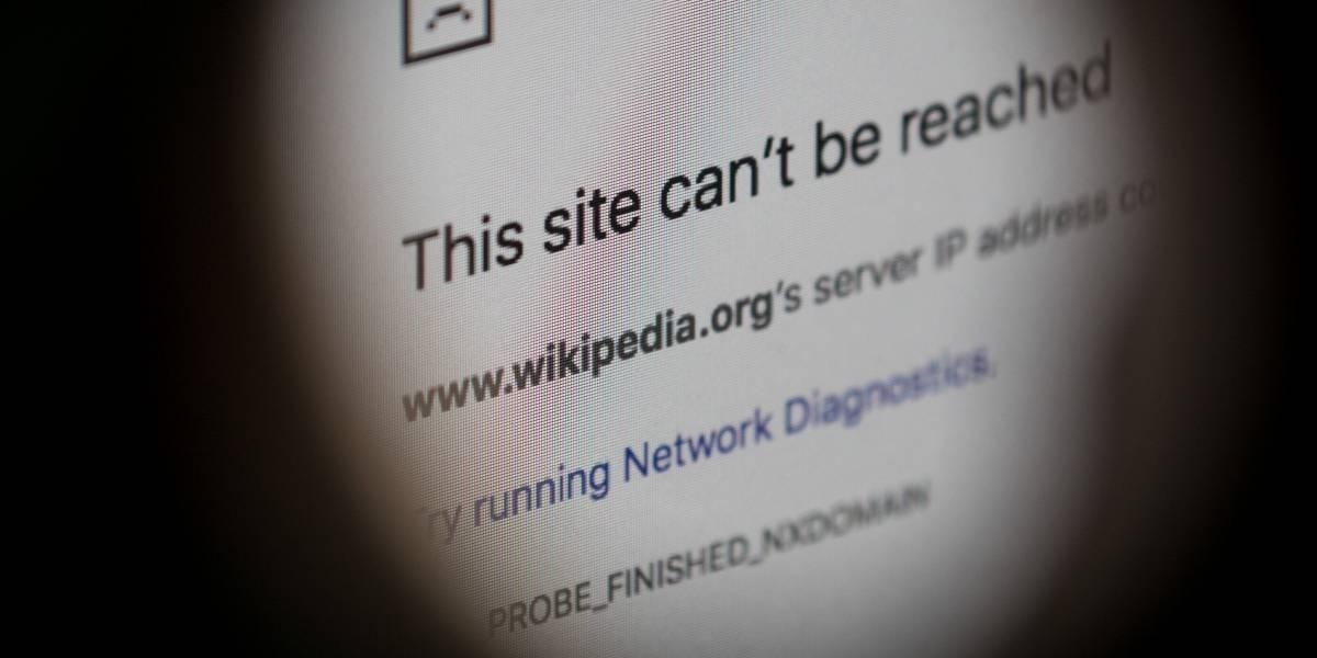 Wikipedia cierra operaciones en el mundo