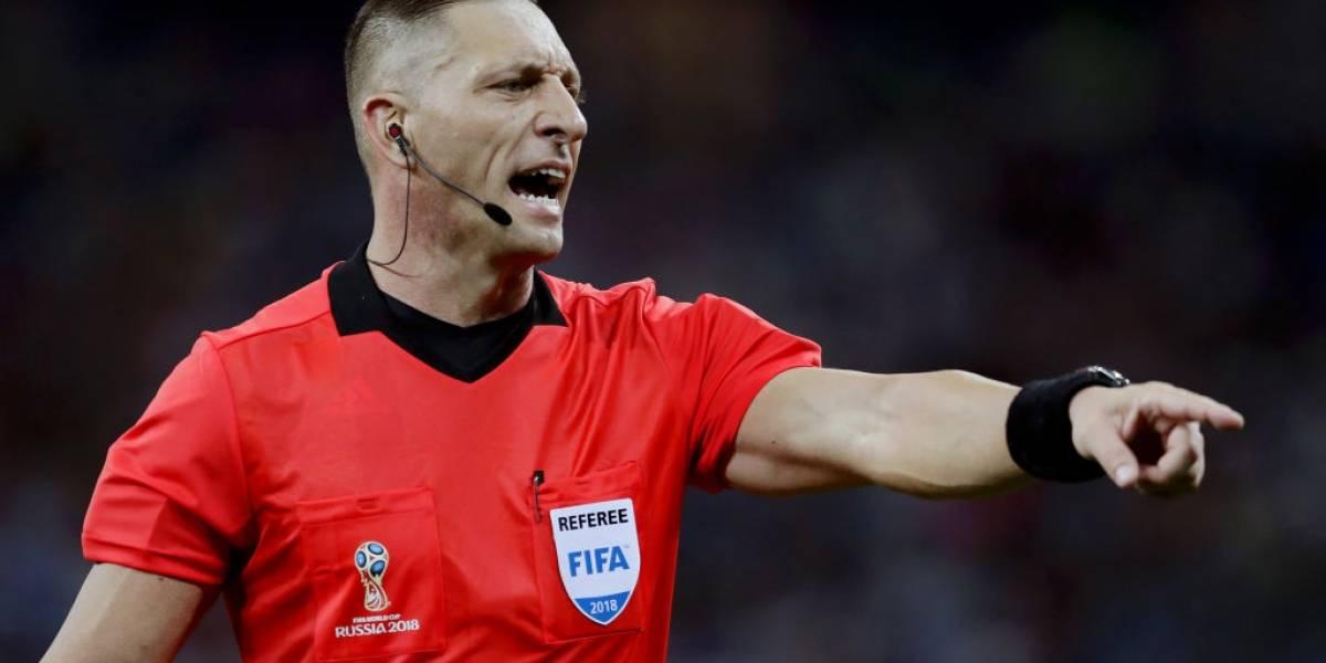 Pitana para Uruguay-Francia: conoce a los árbitros de los cuartos de final de Rusia 2018