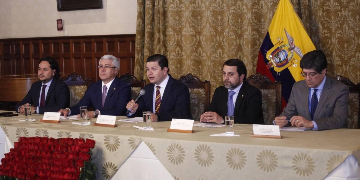 """Gobierno de Ecuador emite """"notas formales de protesta"""" en contra de Bolivia y Venezuela"""